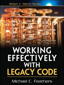 Book Cover: orking Effectively with Legacy Code